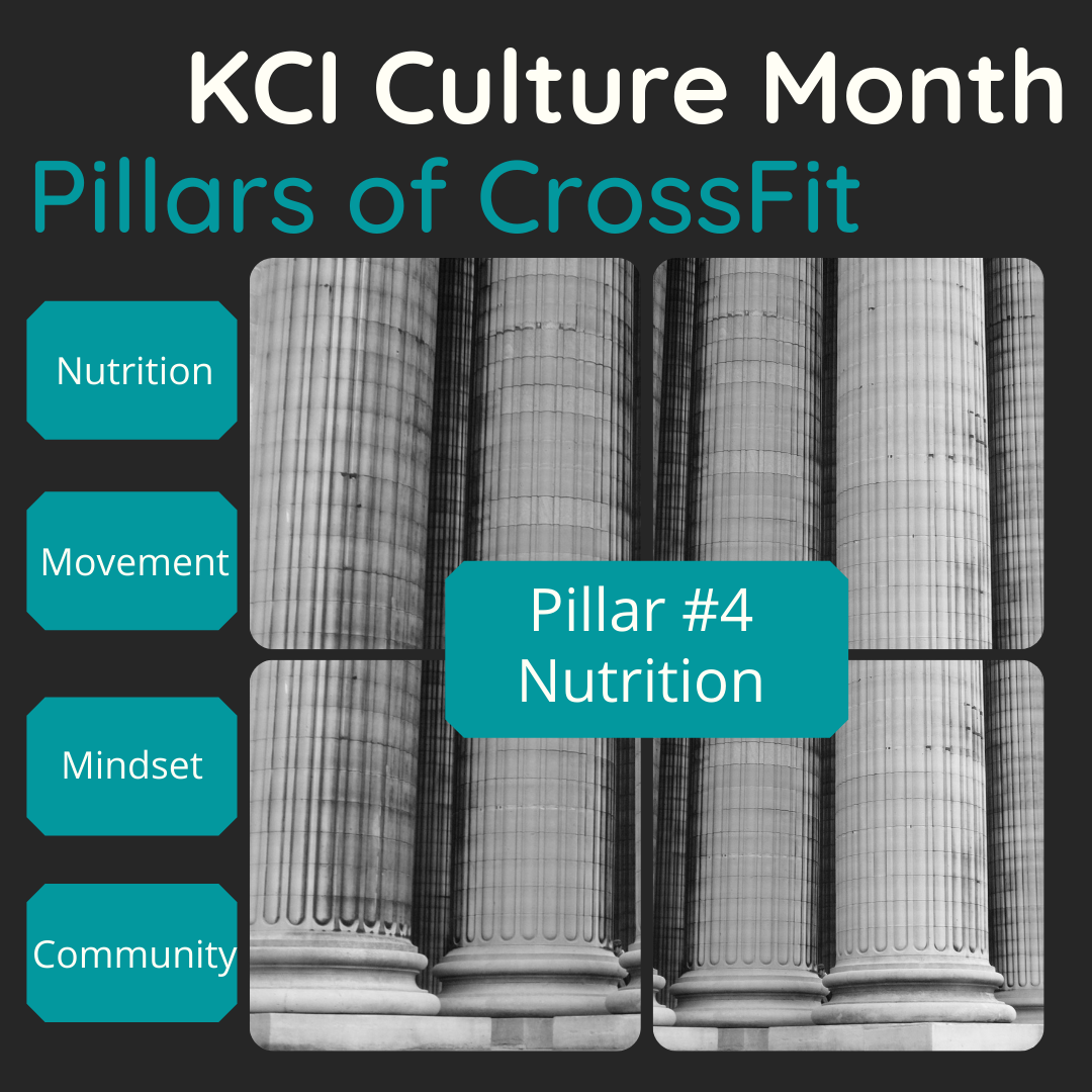 Culture Month – Week 4 – Nutrition